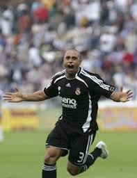 real madrid roberto carlos