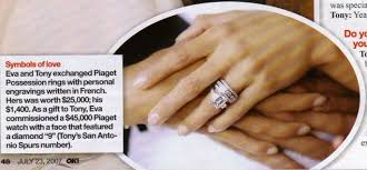 eva longoria wedding ring