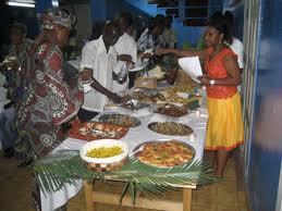 food in liberia