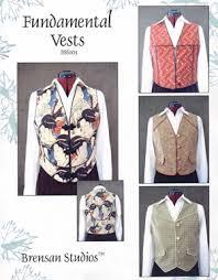 pattern vests