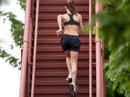 climbing stair