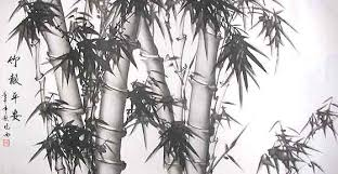 chinese paintings bamboo
