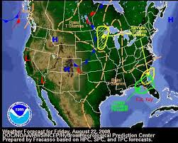 united state weather map
