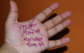 hand notes