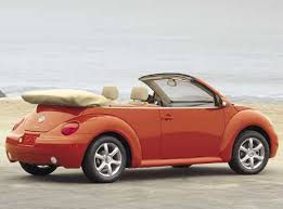 2004 vw beetle convertible