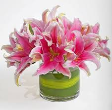 lily flower arrangements