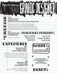 creative graphic design resumes