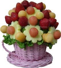flower fruit bouquet