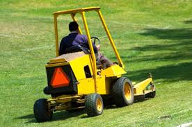 mowing tractors