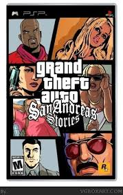 grand theft auto san andreas for psp
