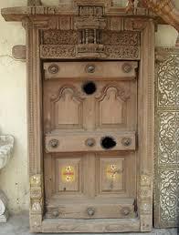 indian wooden doors