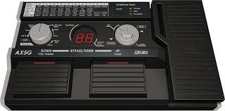 korg guitar processor