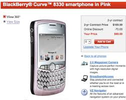 pink blackberry curve 8300