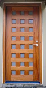 contemporary exterior door