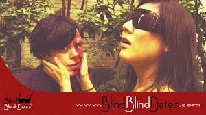 blind women