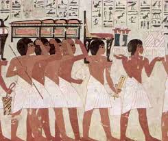tomb paintings in ancient egypt