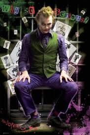 joker dark knight posters