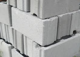 concrete cinder blocks