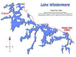 lake windermere map