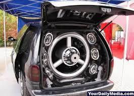 car soundsystem