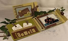 mini scrapbook album