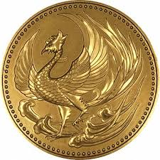 japan gold coin