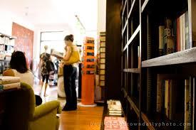 dark wood book shelves