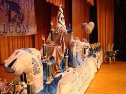 football banquet centerpieces