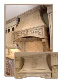 stone kitchen hood