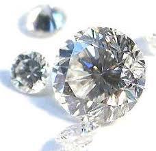 blue white diamonds