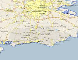 littlehampton map