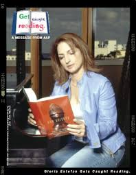 celebrity reading posters