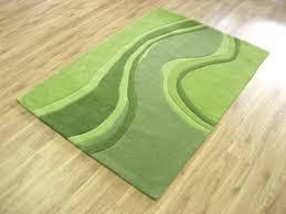 modern floor rug