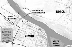 most zemun borca