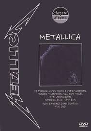 metallica black album dvd