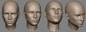 sculpting faces