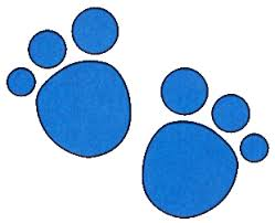 blues clues paw
