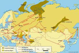 russian gas pipelines