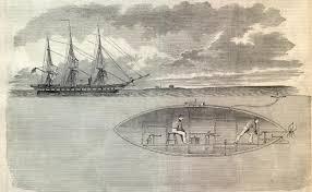 civil war submarine