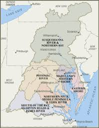 map of chesapeake bay watershed