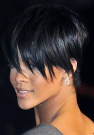 black hairstyles for short hair