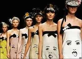 models in dresses
