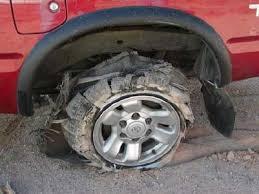 flat tires