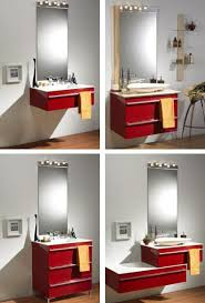 contemporary bathroom cabinetry