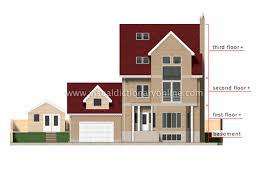 elevation of a house