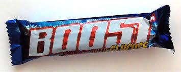 boost chocolate bars