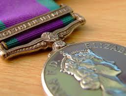 northern ireland medals