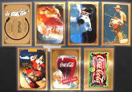 coca cola cards