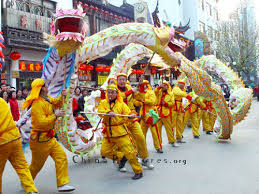 chinese new year dragon parade