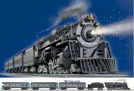christmas express train
